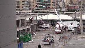 Fiera di Genova, iniziata la demolizione della palazzina Uffici per il Waterfront