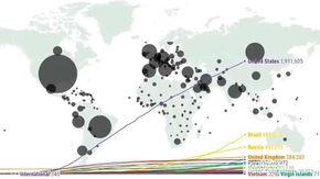 Dai primi casi ad oggi, come il coronavirus si è espanso nel mondo trasformando gli Usa in epicentro