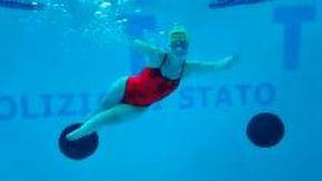 """Bebe Vio e l'allenamento in piscina: """"Mi sento molto la Sirenetta"""""""
