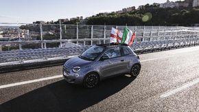 La Nuova 500 attraversa il ponte Genova San Giorgio: simbolo di rinascita tra tecnologia e sostenibilità