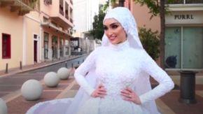 """Beirut, la sposa travolta dall'esplosione durante le foto: """"Dopo non sono stata più presente"""""""