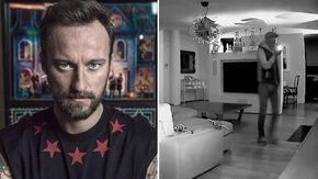 """Furto in casa, Francesco Facchinetti pubblica il video: """"Ecco chi ha messo in pericolo la mia famiglia"""""""