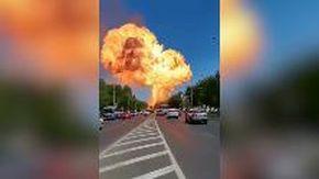 Russia, grossa esplosione in un deposito di benzina