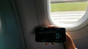Ecco come cambia la velocità di un aereo di linea quando decolla, il test di un passeggero su un Airbus A320