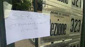 A Oregina chiuso (e riaperto) un seggio per un caso sospetto di Covid