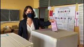 Massardo, Salvatore, Sansa e Toti al voto