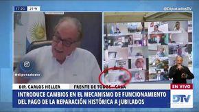 Argentina, deputato sospeso dopo la scena hot con la fidanzata in diretta chat della Camera