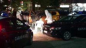 Omicidio suicidio a Venaria in via Druento, il luogo della tragedia
