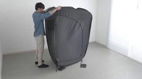 Smart working, dal Giappone arriva l'uffico portatile casalingo che si chiude in pochi gesti