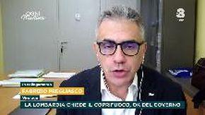"""Coronavirus, l'allarme di Pregliasco: """"La situazione in Lombardia è esplosiva"""""""