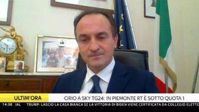 """Covid, Cirio :""""In Piemonte RT sotto quota 1. Passeremo a Zona Arancione ma occorre prudenza. Saremo rigorosi nei controlli"""""""
