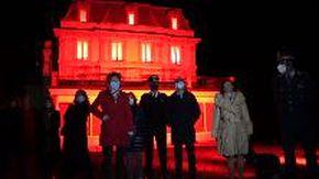 """I palazzi di Verbania illuminati di arancione: """"Basta violenza sulle donne"""""""