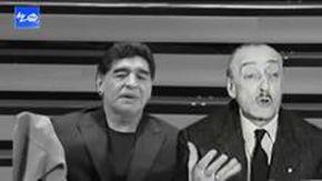 Totò e Maradona insieme, l'omaggio fa parlare le due grande icone e commuove con tanta ironia