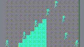 L'illusione ottica che sta facendo impazzire i social, gli omini si lanciano dalla scala? Ecco qual è la realtà