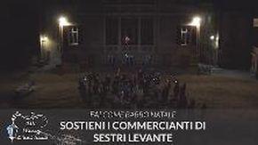 Sestri Levante: «Fai come Babbo Natale, sostieni i commercianti»
