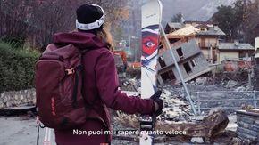 """""""Non ci fermeremo"""", il video della maestra di sci dedicato a Limone Piemonte è virale su Instagram"""