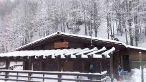 Bufera di neve sulle vette di Santo Stefano d'Aveto