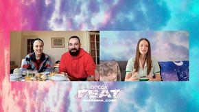 """Colazione al Festival con Francesca Michielin e Coma Cose: """"Abbiamo fatto dei sogni strani stanotte"""""""