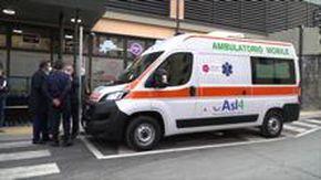 Vaccinazioni, Asl4 inaugura ambulatorio mobile per somministrazioni