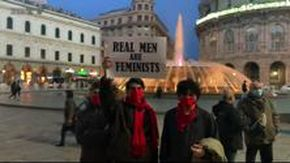 Violenza sulle donne: in piazza a Genova scendono gli uomini