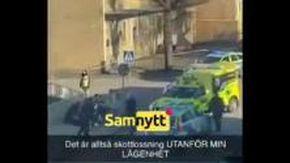 Attacco terroristico in Svezia: il momento dell'arresto