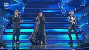 Sanremo 2021, Laura Pausini si commuove. Poi canta con Fiorello e Amadeus (esilarante)
