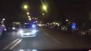 Cagliari, scontro frontale durante un inseguimento: lo schianto in soggettiva dall'auto dei carabinieri