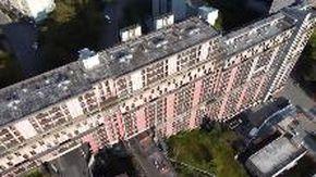 Genova, al via la demolizione della Diga bianca di Begato: le immagini dal drone