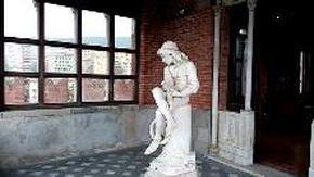 Castello D'Albertis, il Colombo giovinetto in restauro