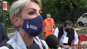 """Ddl Zan, in piazza anche Francesca Pascale: """"Esternazioni di Tajani pericolose, fuori luogo e fuori tempo"""""""