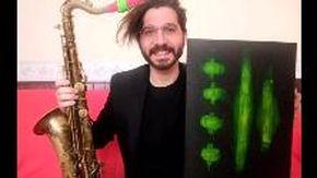 Paolo D'Aloisio e i suoi quadri musicali, scoprendo le tele dell'artista di Santo Stefano al Mare