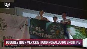 """Lisbona, la mamma di Ronaldo promette ai tifosi dello Sporting: """"Lo convinco a tornare qui"""""""