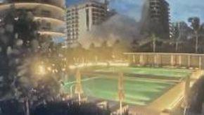 Miami, il momento del crollo del palazzo: il filmato diffuso dalle tv americane