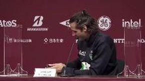 """Tokyo 2020, Tamberi interrotto in conferenza dalla mamma: """"Scusate, devo rispondere"""""""