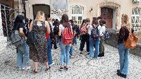 """Savona, il rientro a scuola di studenti e docenti al liceo """"Della Rovere"""""""