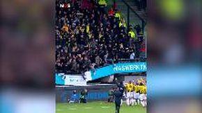 Olanda, paura al termine del match Nec-Vitesse: crolla la tribuna dello stadio. Nessun ferito