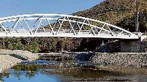 Murialdo, inaugurato il nuovo ponte delle Fucine