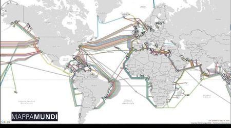 Cavi sottomarini e server: così gli Usa controllano Internet e i suoi giganti - Mappamundi