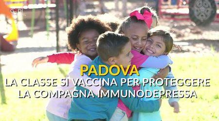 Padova, la compagna di scuola è immunodepressa: 20 bimbi si vaccinano per proteggerla
