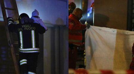 Reggio Emilia, incendio in una palazzina: due morti e una bimba grave