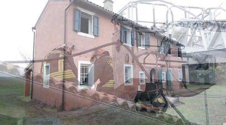 Incendio in un'abitazione colonica di San Bartolomeo