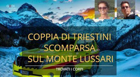 Morti i due triestini scomparsi sul Monte Lussari, i corpi trovati in fondo a un dirupo
