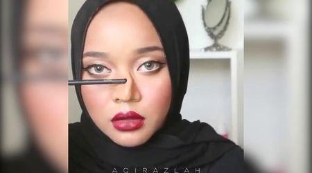 Malaysia, l'ultima frontiera del makeup: il naso è temporaneo