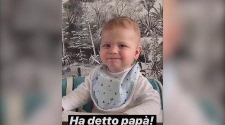 La gioia di Fedez su Instagram: ''Leone ha detto papà''. Ma Chiara non è d'accordo