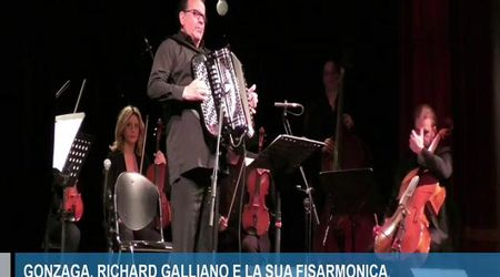 Gonzaga, Richard Galliano in concerto al Comunale