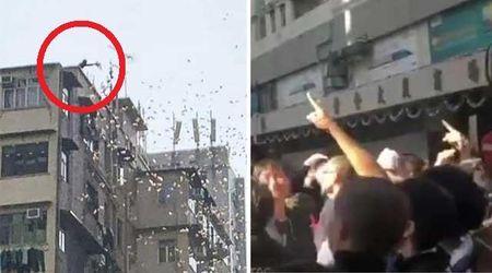 "Hong Kong, piovono banconote dal cielo. Un giovane arrestato: ""Io come Robin Hood"""
