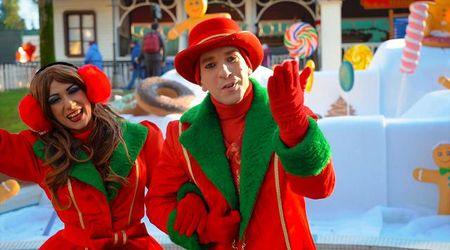 Gardaland, il grande parco si è vestito di Natale