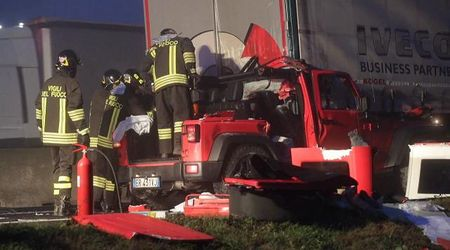 Incidente mortale in autostrada A13