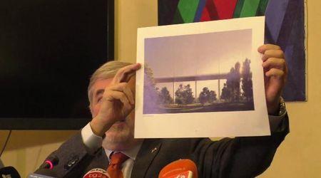 """Ponte Morandi, il sindaco Bucci presenta il progetto: """"Pronto in un anno"""""""