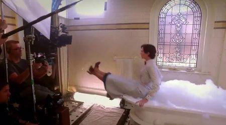 Mary Poppins e la scena della vasca da bagno: Emily Blunt rivela il dietro le quinte